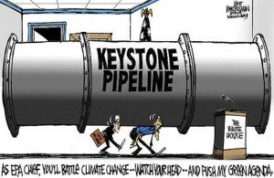 On the Eco Front: The Keystone Pipeline – Obama's Last Environmental Lifeline?